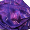 Ultra Violet Dragon Pure Silk Scarf